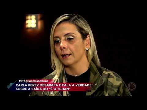 Carla Perez revela que agressão foi motivo de sua saída do É o Tchan