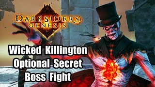 DARKSIDERS GENESIS Wicked Killington Optional Secret Boss Fight Gameplay [PC 1080p Ultra]