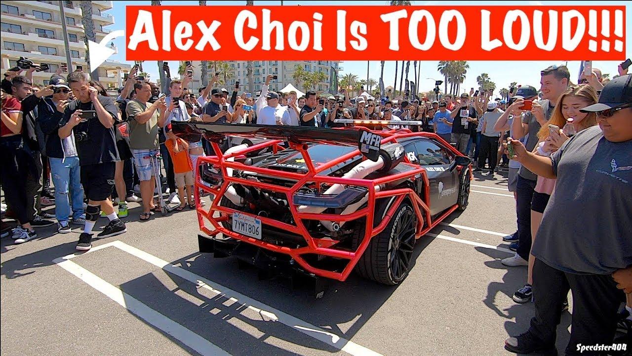 Alex Choi S Twin Turbo Lamborghini Shuts Down The Street Offroad