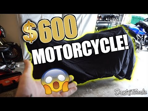 Found A $600 Motorcycle - Let's Build It!