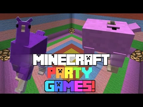 Las Alpacas dominan Minecraft! | Party Hard Games