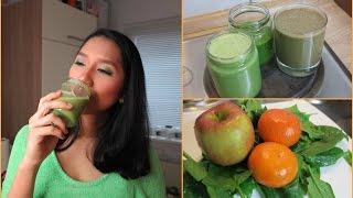3 Resep Jus Bayam Lezat / Cara Membuat Jus Sayur Enak/ Green Smoothie