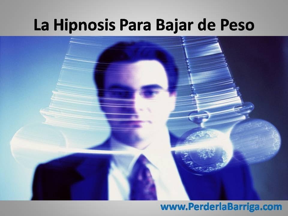 Hipnosis para bajar de peso en mexico