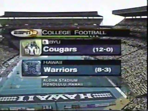 2001 BYU vs Hawaii