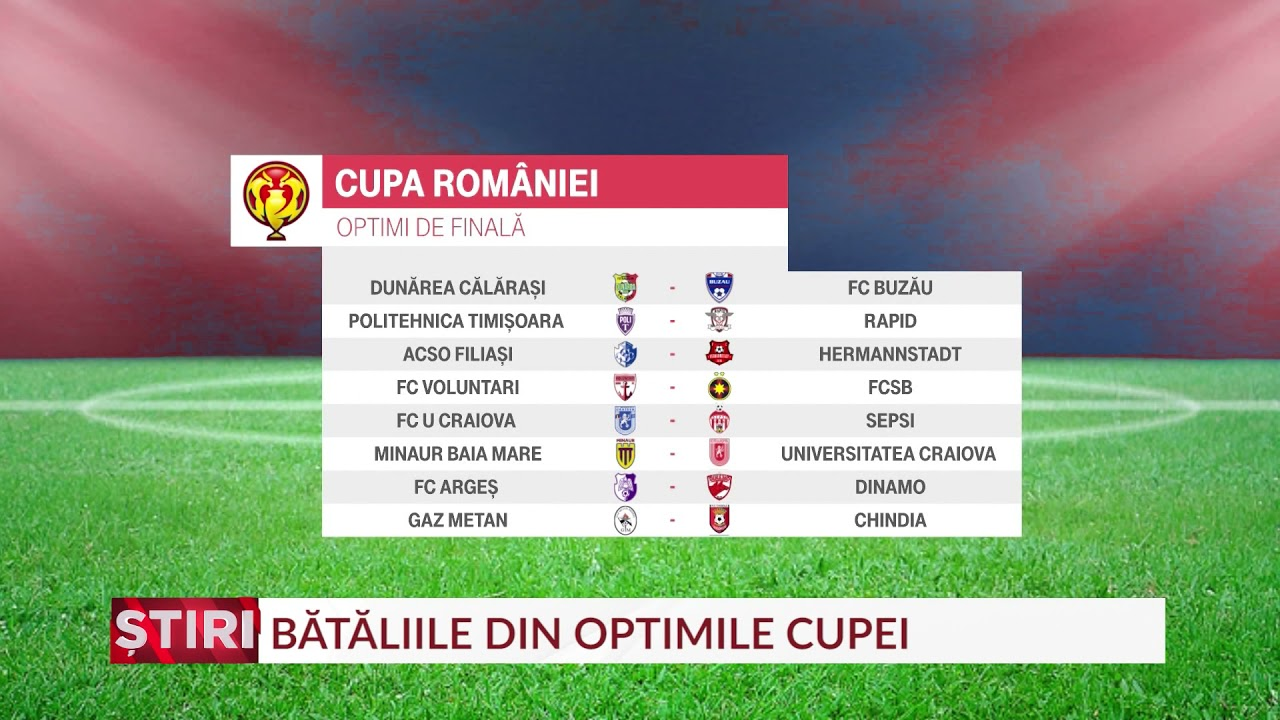 FCSB, meci greu în Cupa României. Cum arată tabloul