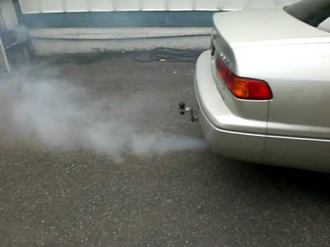 smoke show 2001 Toyota camry v6 seafoam