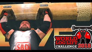 World Log Lift Challenge 2018 - FULL & UNCUT