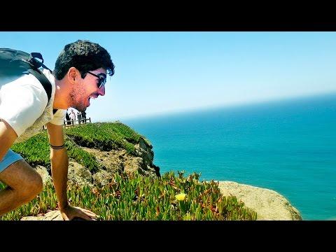 Cabo da Roca, um dos lugares mais fantásticos - Verão em Portugal   Hoje tô Aqui