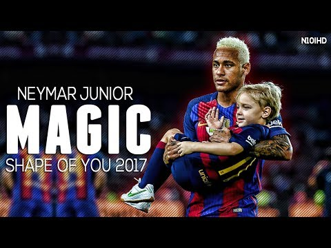 Neymar Skills ▶ Shape Of You ● Crazy Skills & Goals 2017 | HD