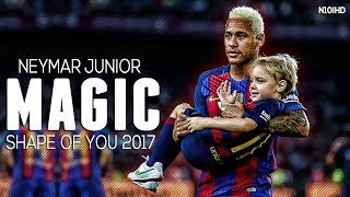 Repeat youtube video Neymar Skills ▶ Invisible - Shape Of You ● Crazy Skills & Goals 2017 | HD