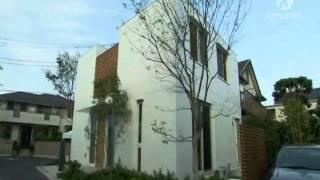 Строительство каркасных частных дом в Токио.(Строительство в Токио сити. Автоматические парковки в Токио, Япония. Частные дома в Японии. Строительство..., 2011-05-10T12:16:59.000Z)