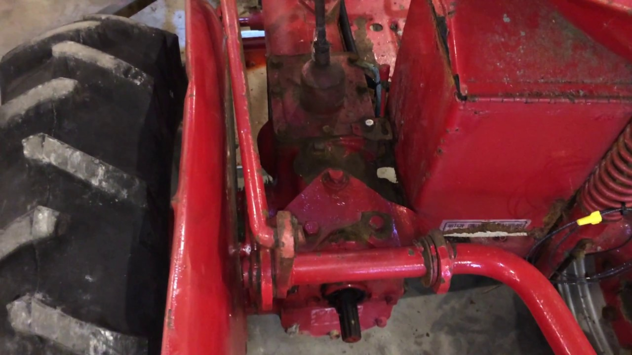 check and change gearcase fluid on farmall cub and others  [ 1280 x 720 Pixel ]