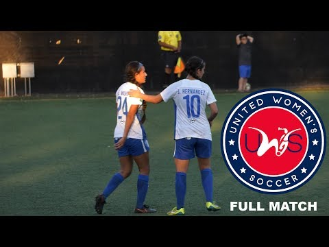 Santa Clarita Blue Heat FC vs Real Salt Lake Women - United Women's Soccer League 2017