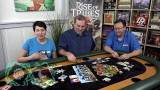 Gameplay Rise of Tribes