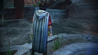 Path of Exile: White Hooded Cloak