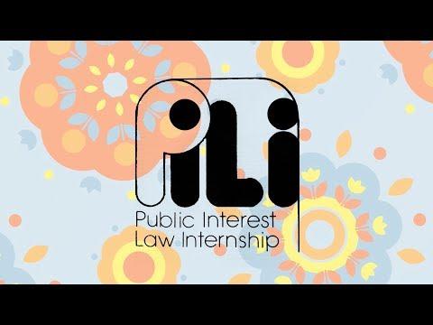 The Public Interest Law Initiative's 40th Anniversary Awards Gala Retrospective