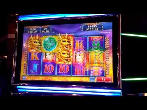 Nice Slot Machine Win - River Lodge Casino, Laughlin, NV