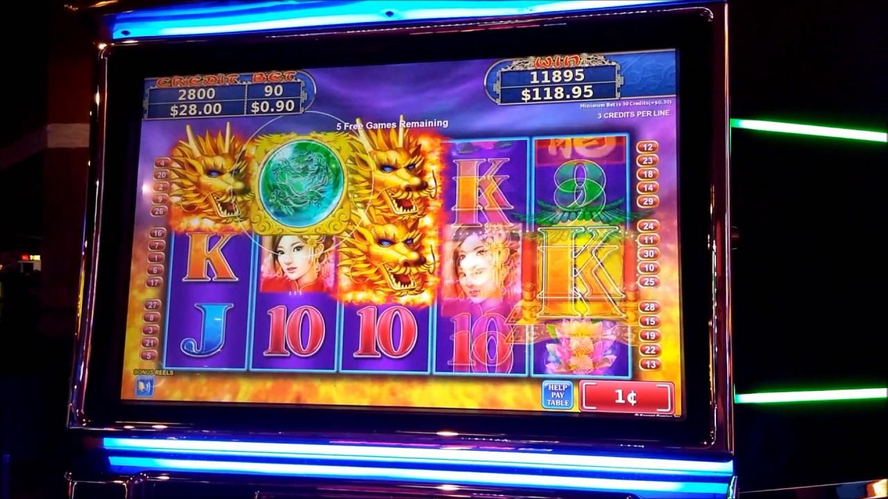 Slot machines at river city casino