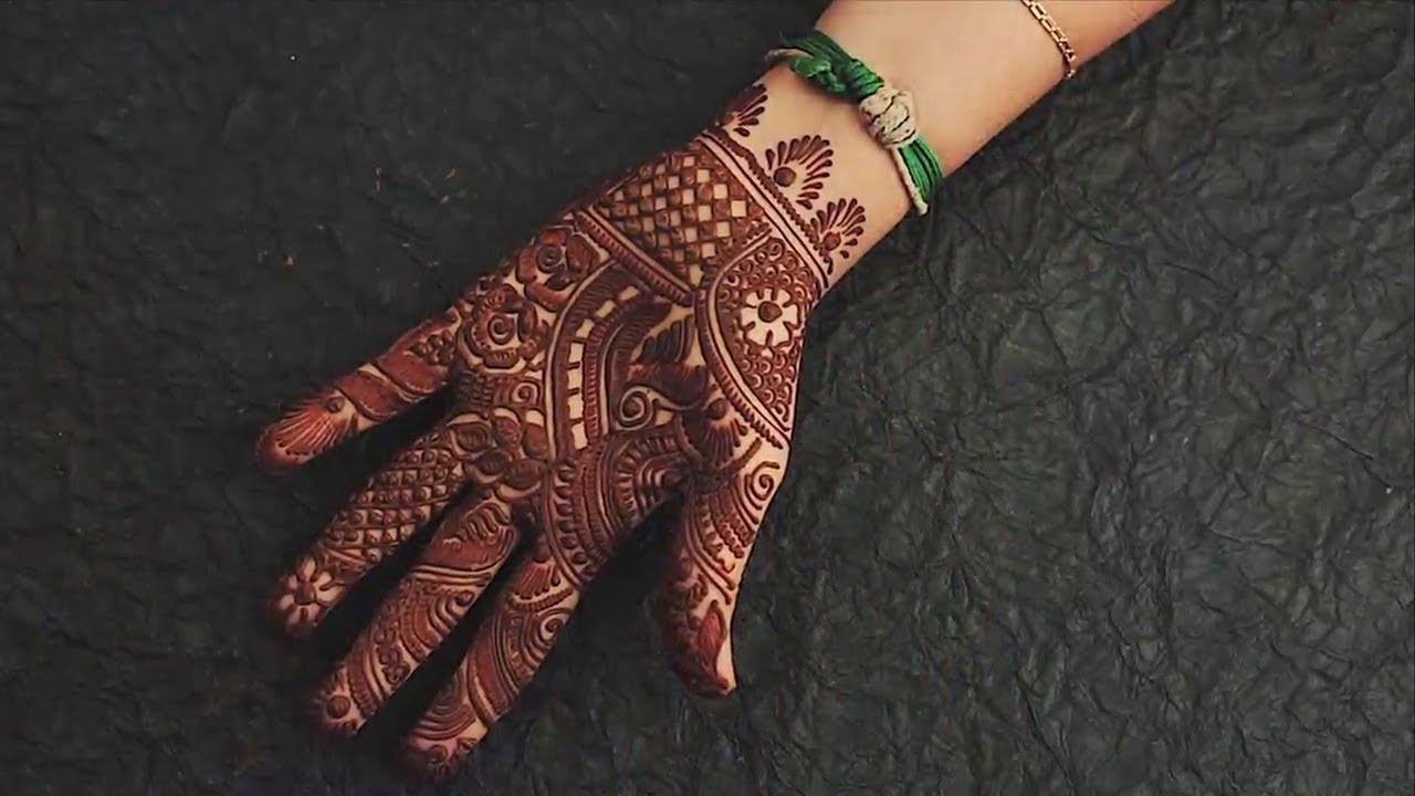 Mehndi Designs for Beginners Step By Step    Simple Arabic, Mandala and Bridal Designs    DIY
