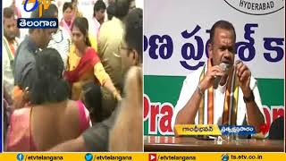 Congress MP Komatireddy Venkat Reddy Press Meet | at Gandhi Bhavan | Live