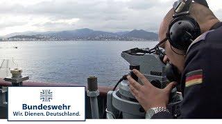 Leben auf einem Kriegsschiff - Bundeswehr