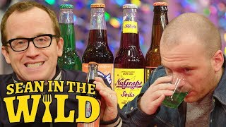 Chris Gethard and Sean Evans Compete in a Blind Soda Taste-Test | Sean in the Wild thumbnail