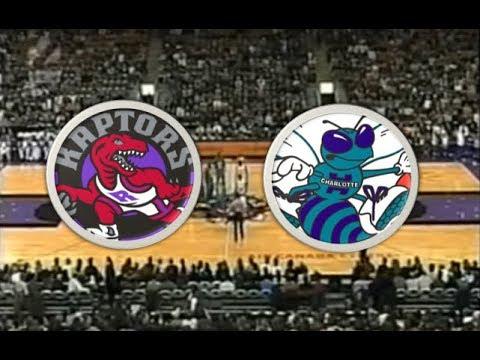 Toronto Raptors (18-18) VS Charlotte Hornets (23-15) | 2000-2001 | NBA