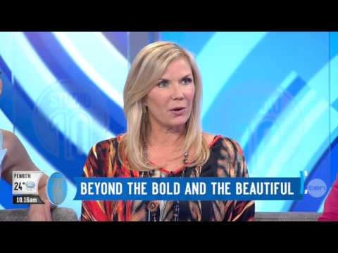 Katherine Kelly Lang | 'Studio 10' Australia | 15 September 2014