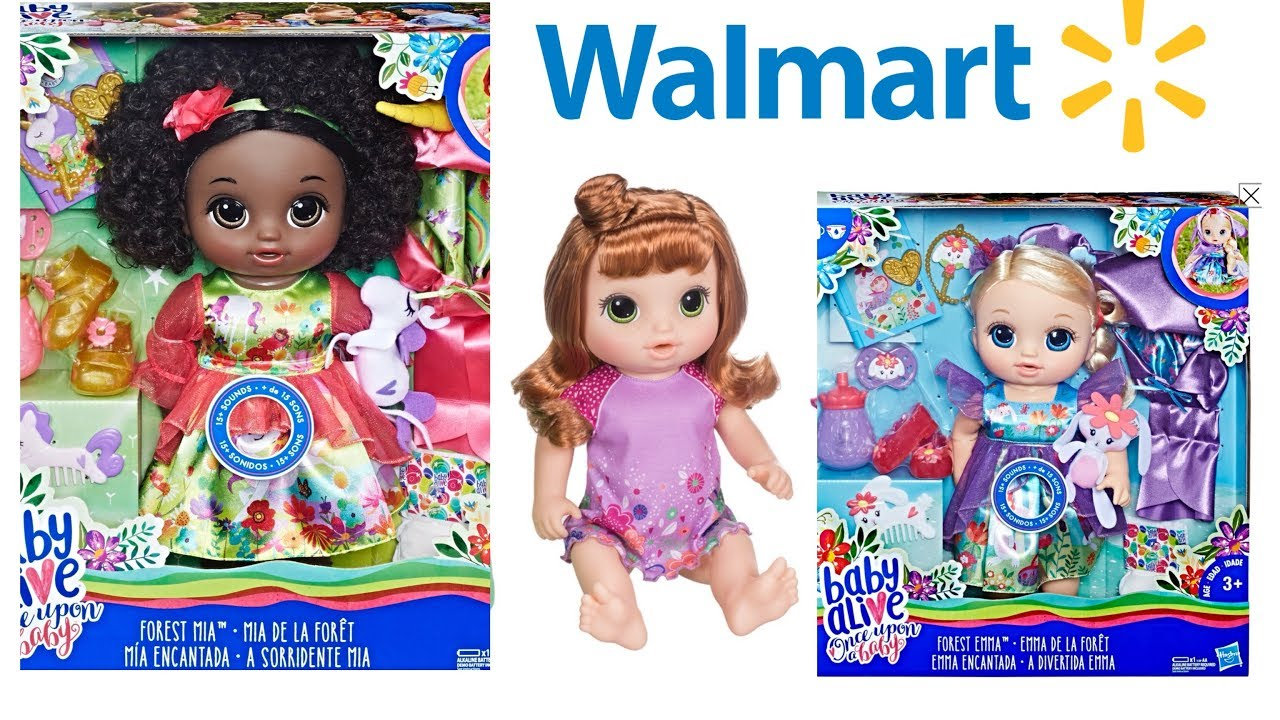 1eecaed908 Baby Alive once upon a baby doll and Walmart exclusive potty dance baby  coming to stores soon