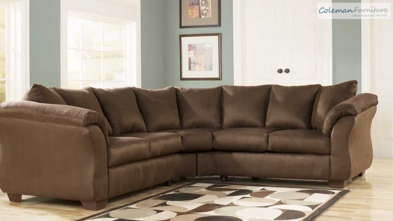Darcy Cafe Living Room Collection from Signature Design by Ashley - YouTube : ashley darcy sectional - Sectionals, Sofas & Couches