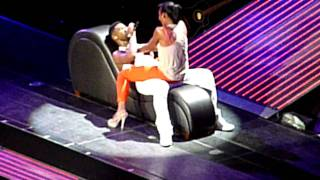 Pt2- Usher brings girl on stage
