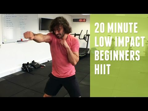 Low Impact Beginners HIIT Workout | The Body Coach