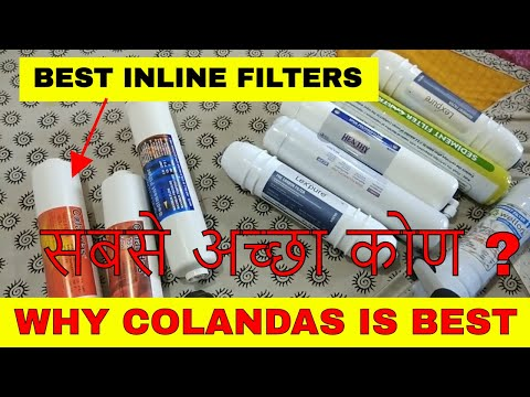 Best Reverse Osmosis Inline Filters available.