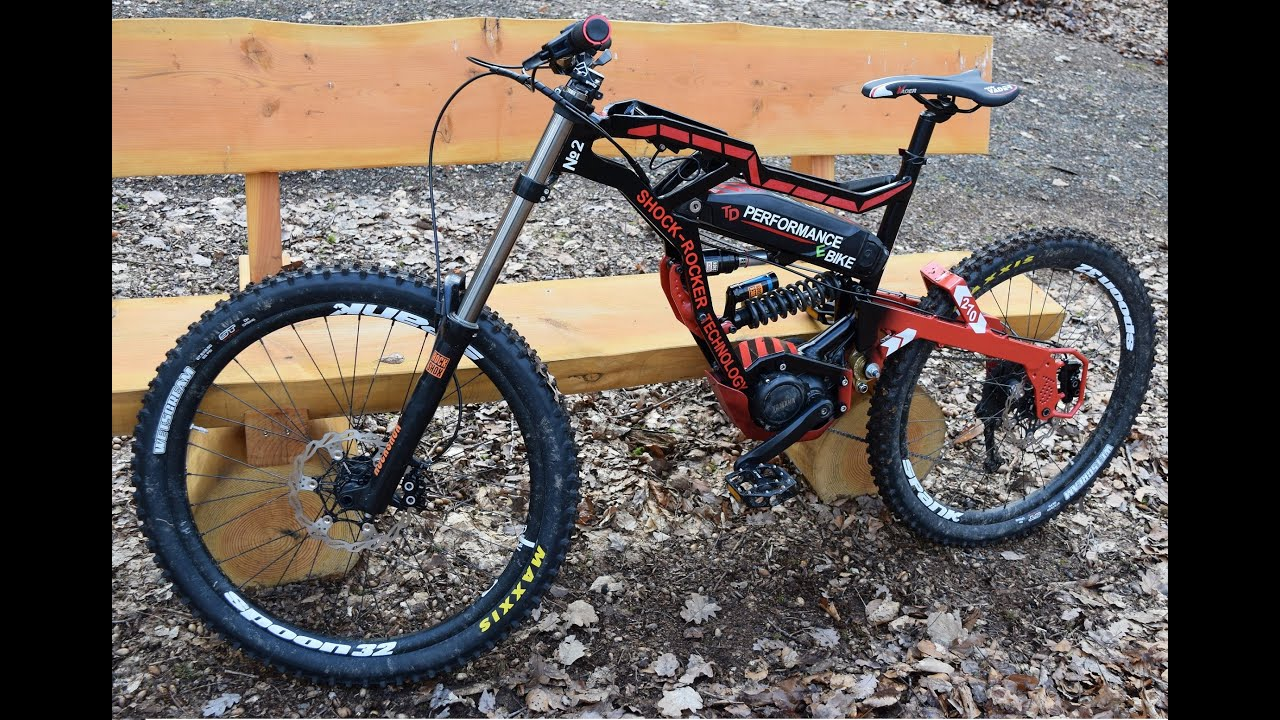 electric downhill mountain bike youtube. Black Bedroom Furniture Sets. Home Design Ideas