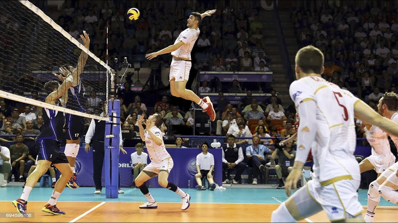 Top 10 Attack In 3rd Meter 3rd Meter Spike Volleyball Highlights Fivb World League 2017 Youtube