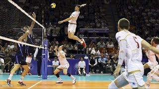 TOP 10  Attack in 3rd meter | 3rd meter spike | Volleyball Highlights | FIVB - World League 2017
