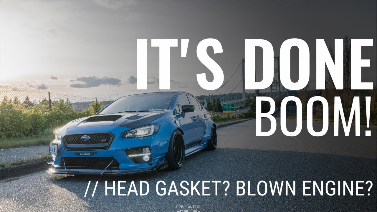 [4K] STI BLOWN HEAD GASKET? WE FOUND OUT THE TRUTH | E85 2016 SUBARU WRX STI