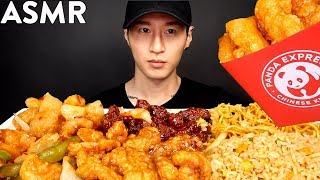 ASMR CHINESE FOOD PANDA EXPRESS MUKBANG (No Talking) EATING SOUNDS | Zach Choi ASMR