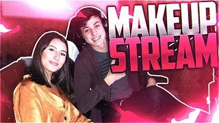 lL STYLISH | MAKEUP STREAM HIGHLIGHTS WITH MY SISTER!!!