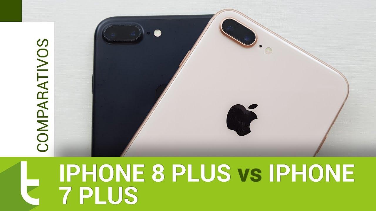 26bec65001eb3e Apple iPhone 8 Plus vs 7 Plus | Comparativo do TudoCelular - Tudocelular.com