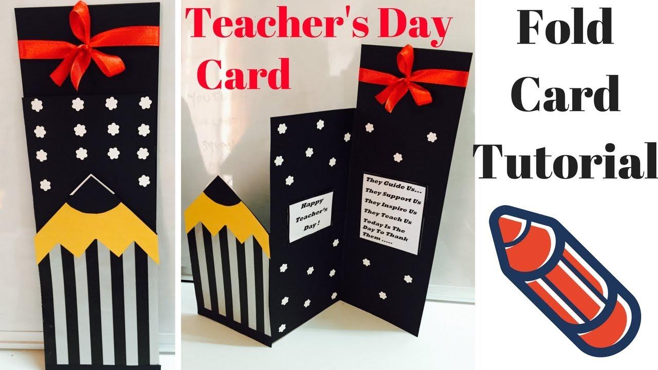 Card For Favorite Teacher Handmade Greeting Cards For Kids