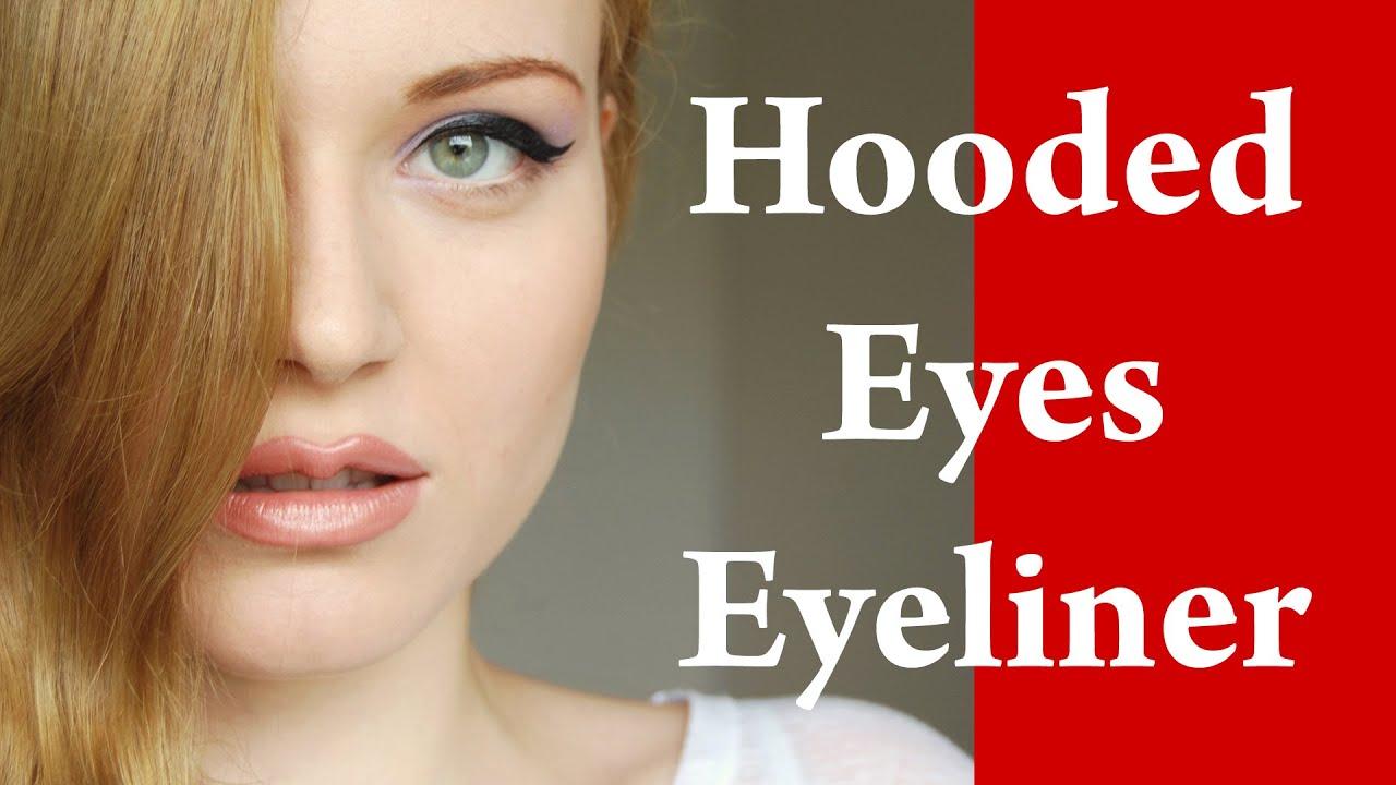 Eyeliner Makeup Video Tutorial For Downturned And Hooded Eyes Part