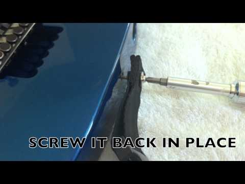 How To Install a Dimarzio Cliplock Strap (Como Instalar)