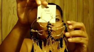 HAUL feather earrings ur Eternity AND CONTEST GIVEAWAY.....