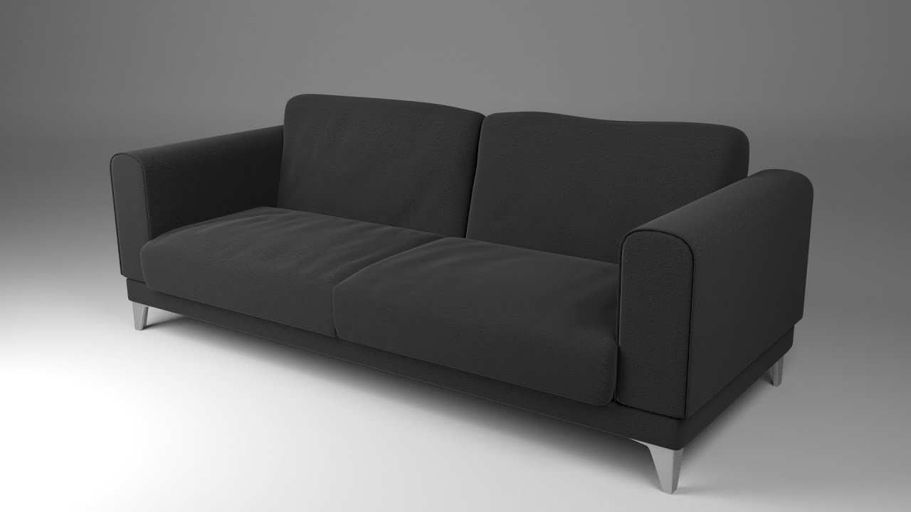 Couh How To Make A Couch In Blender - Part 1 - Youtube
