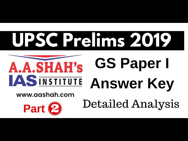 UPSC Prelims 2019 Paper Discussion Analysis Part 2 by Mrs Bilquees Khatri