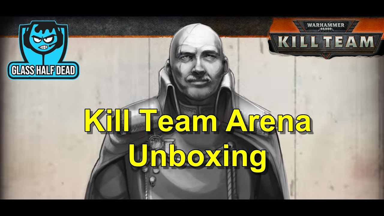 46ee7ae426fa2 Kill Team Arena Unboxing - YouTube