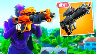 The New GRENADE LAUNCHER in Fortnite.. (Gameplay)
