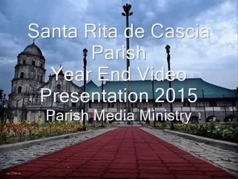 Santa Rita Pampanga - Santa Rita de Cascia Parish 2015 Year End Video