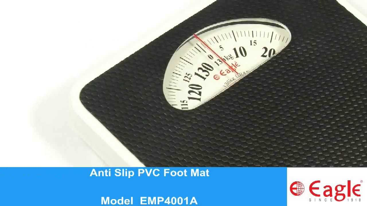 Mechanical Personal Bathroom Weighing Scale EMPA YouTube - Digital vs analog bathroom scale